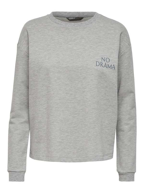 Sudadera Chica Only 15230768 ONLDIANA L/S O-NECK SWT