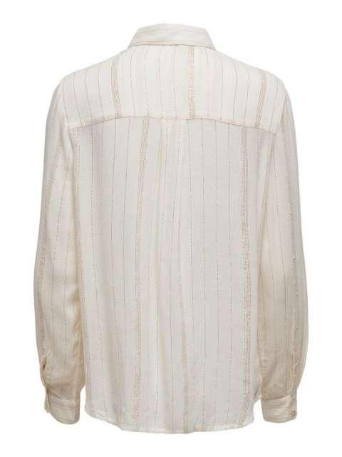 Camisa chica Only 15230340 ONLVIOLA L/S LUREX SHIRT WVN