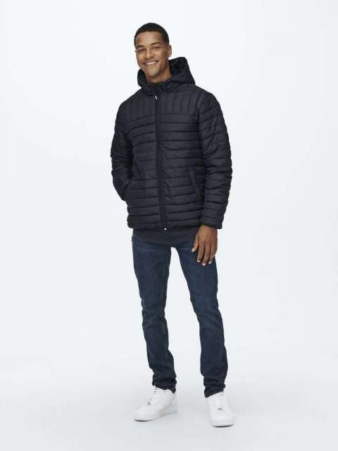 Plumífero Acolchado Hombre Only & Sons 22015121 ONSPAUL QUILTED HOOD JAWCET OT
