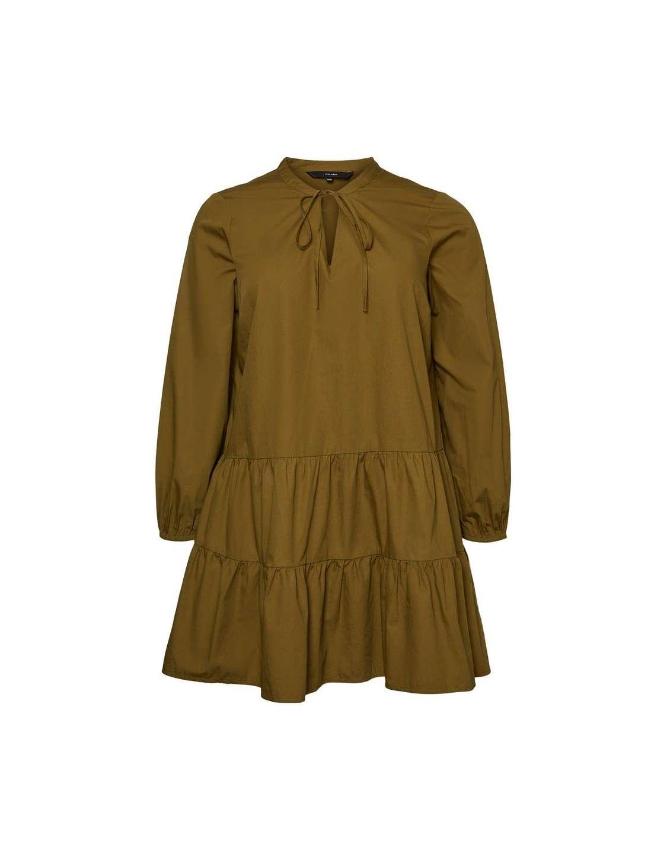 Vestido Curve Chica Vero Moda 10233170 VMOLLA LS TUNIC - K CURVE
