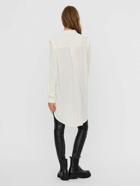 Camisa larga chica Vero Moda 10241239 VMMABLE LS LONG SHIRT WVN