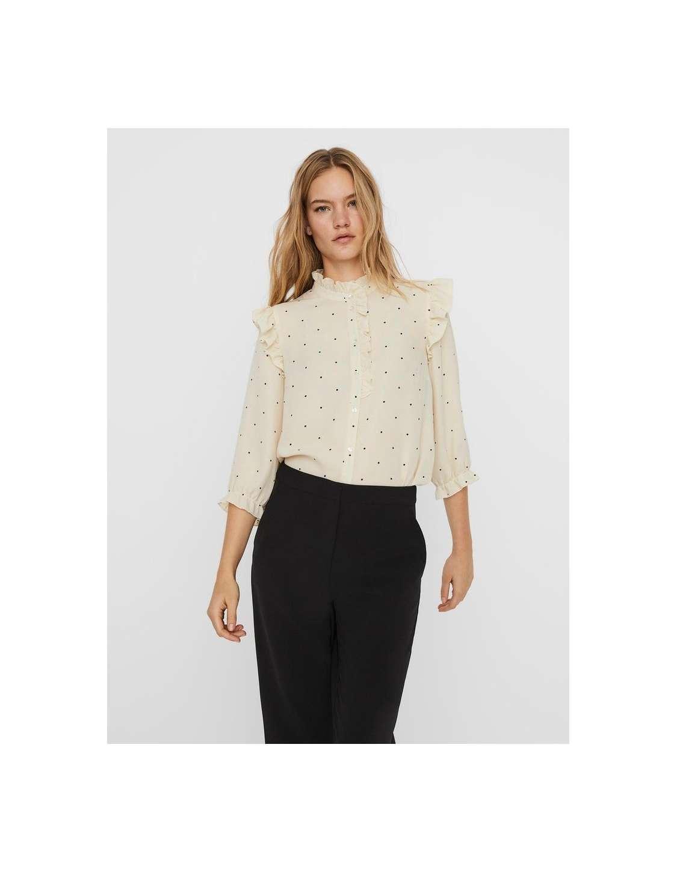Camisa chica Vero Moda 10240212 VMMARLEY 3/4 SHIRT WVN