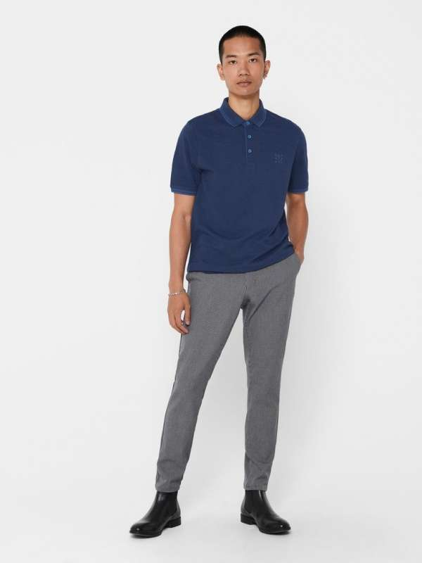 Polo Chico Only&Sons 22011349 ONSSTAN LIFE SS FITTED POLOTEE(6560)NOOS