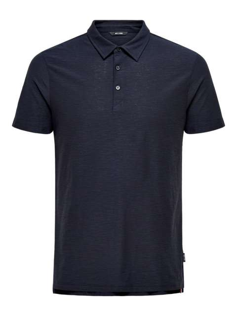 Polo Chico Only & Sons 22016346 ONSILKAS SLIM SS POLO NOOS