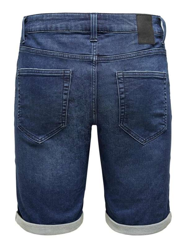 Short Chico Only & Sons 22015230 ONSPLY REG LIFE D BLUE SW PK 5230 NOOS