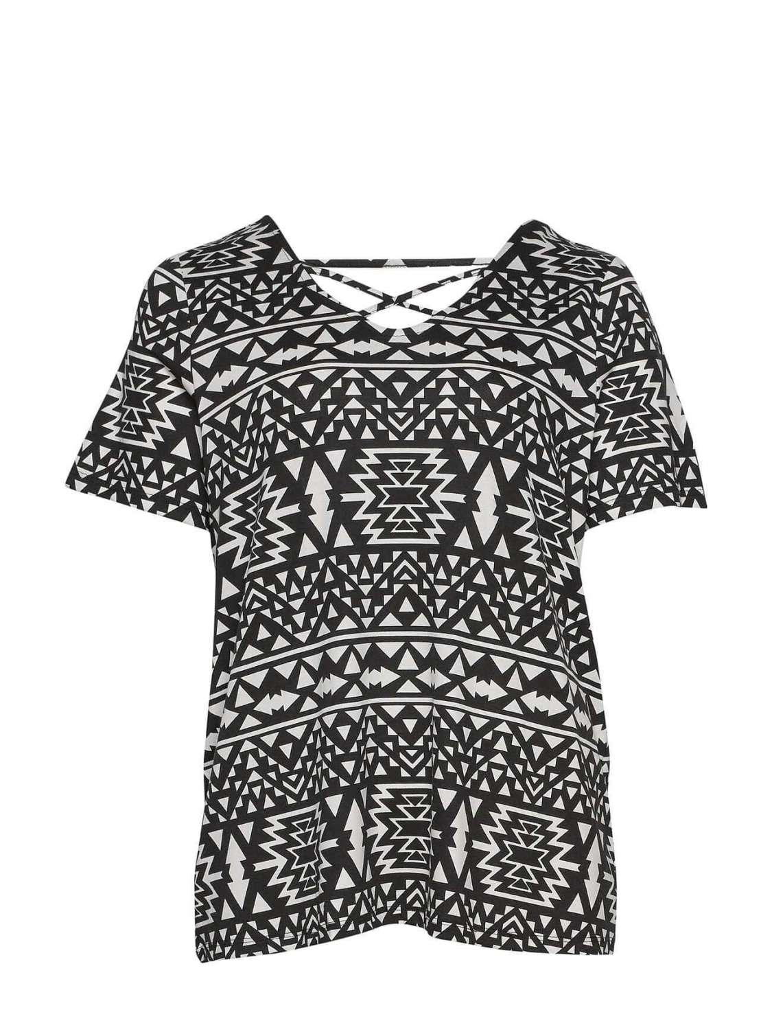Top Curve Chica Only Carmakoma 15161654 CARBANDANA S/S TOP