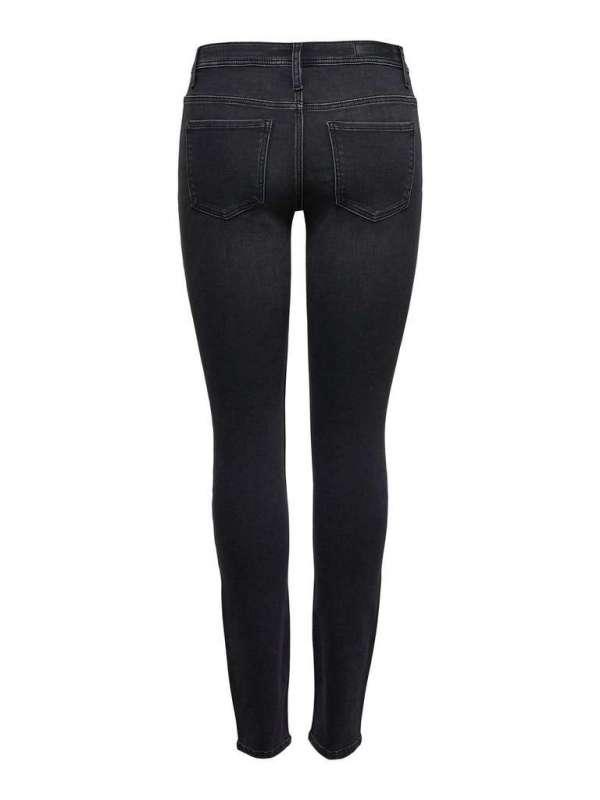 Pantalón Skinny Chica Jacqueline de Yong 15161188  JDYJAKE LIFE SKINNY RW BLACK DNM NOOS
