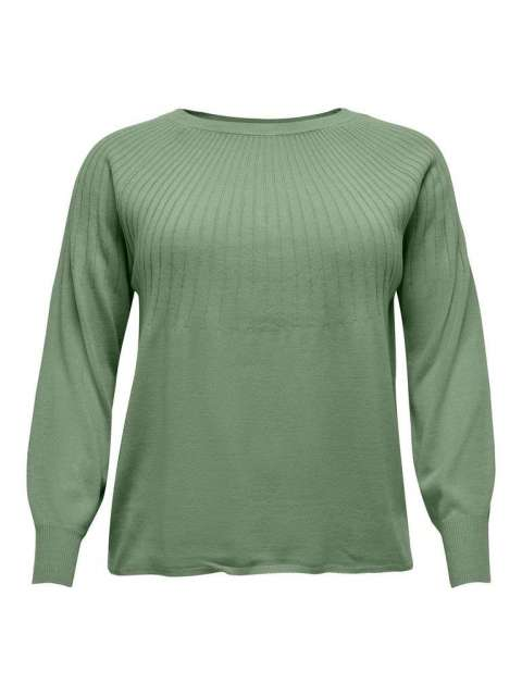 Jersey de punto Curvy Chica Only Carmakoma 15220730 CARAMA L/S PULLOVER KNT