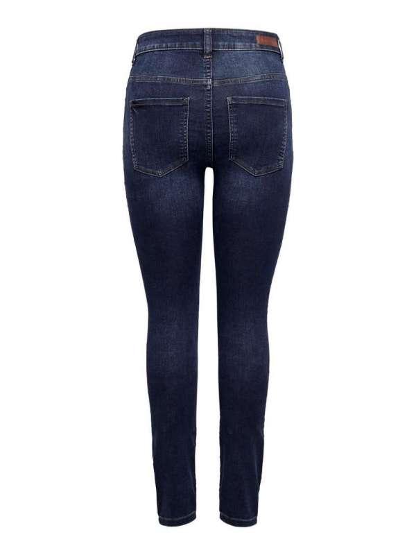 Jeans Tiro Alto Chica Jacqueline de Yong 15208243 JDYNEWNIKKI LIFE HIGH SKN MD BL DNM NOOS