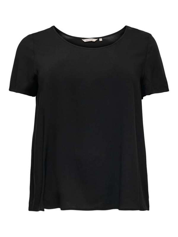 Top Curvy Chica Only Carmakoma 15226657 CARFIRSTLY LIFE SS TOP NOOS