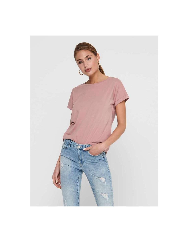Camiseta Básica Chica Jacqueline de Yong 15208423 JDYLOUISA NEW LIFE S/S TOP JRS NOOS