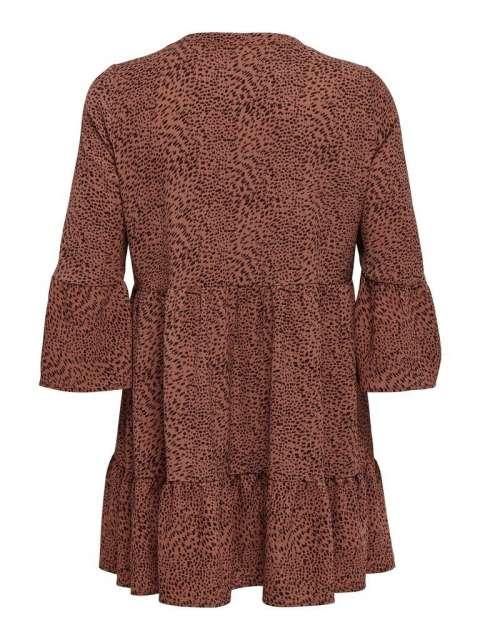 Vestido Chica Only Carmakoma 15218436 CARLUXMAJA 3/4 TUNIC DRESS AOP