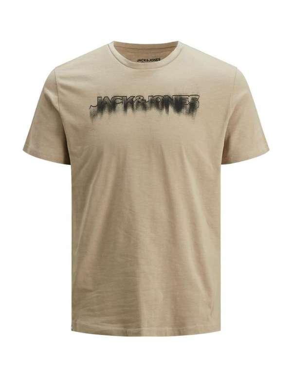 Camiseta chico Jack&Jones 12185120 JOREDGE TEE SS CREW NECK BLK
