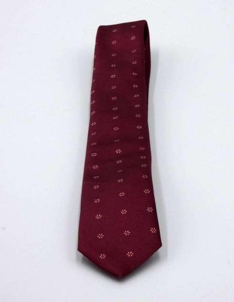 Corbata Estampada Burdeos 307M2POCORBBUR