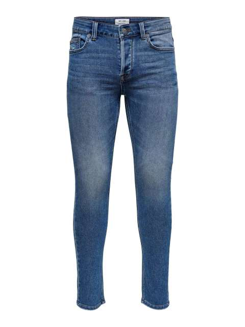 Vaqueros Slim Chico Only & Sons 22020204 ONSLOOM SLIM LIFE JOG MID BLUE PK 0204