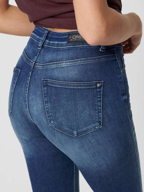 Jeans chica Only 15159306ONLBLUSH LIFE MID ANK RAW REA2077 NOOS