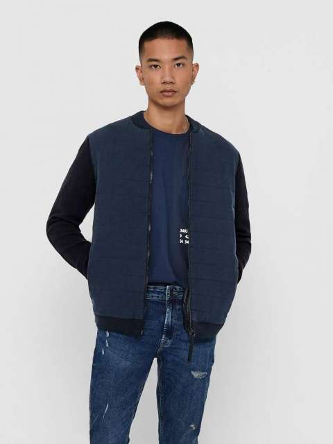 Cazadora chico Only&Sons 22018604  ONSPRESLEY 7 QUIL TED JACKET KNIT