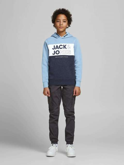 Sudadera capucha niño Jack & Jones 12182779  JJARID SWEAT HOOD JR
