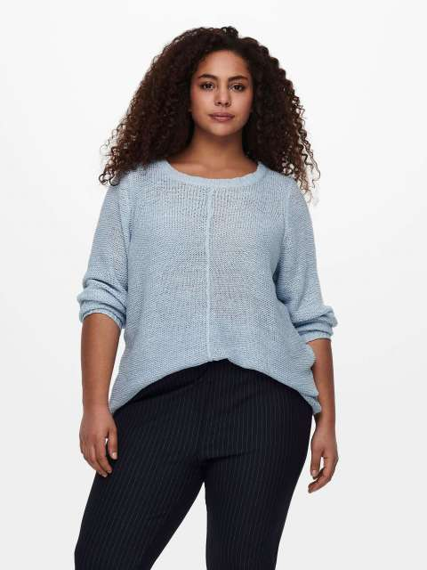 Jersey Curve Chica Only Carmaoma 15194438 CARFOXY L/S PULLOVER ESS