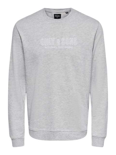 Sudadera Hombre Only & Sons 22020264 ONSALBERTO LIFE REG LOGO CREW NECK SWEAT