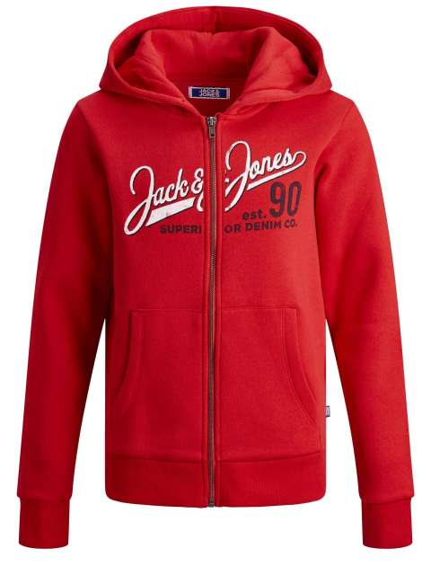 Sudadera Capucha Niño Jack & Jones Junior 12173884 JJELOGO SWEAT ZIP HOOD