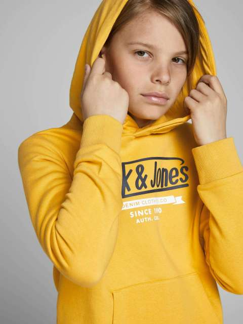 Sudadera Capucha Niño Jack & Jones Junior 12173883 JJELOGO SWEAT HOOD 2