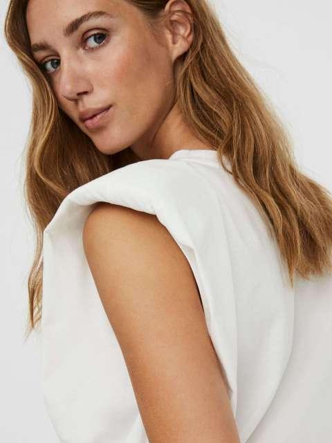 Camiseta Hombreras Mujer Vero Moda 10240876 VMNETE SL TOP JRS GA