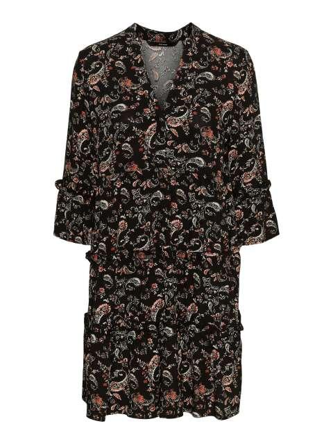 Vestido Estampado Mujer Vero Moda 10245162 VMSIMPLY EASY 3/4 SHORT DRESS WVN GA