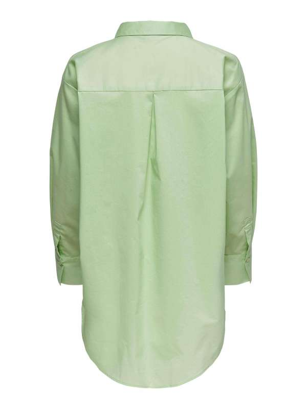 Camisa Oversize Mujer 15233486 Jacqueline de yong JDYMIO L/S LONG SHIRT WVN