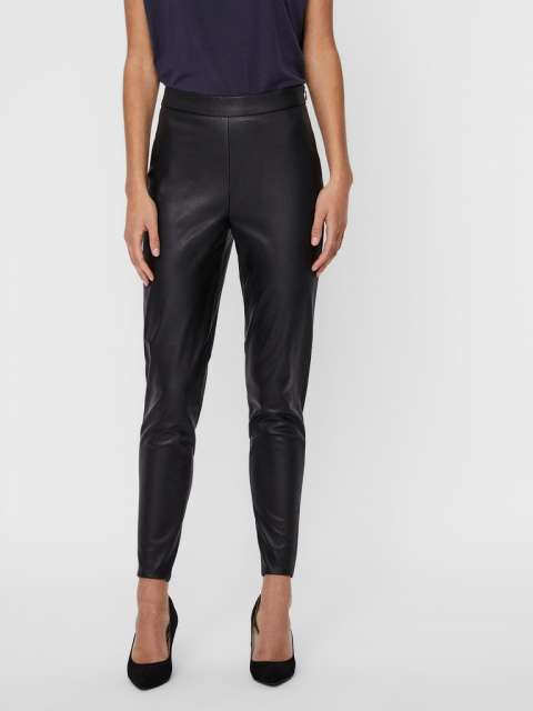 Pantalón chica Vero Moda 10234231 VMJANNI HW PU LEGGING NOOS
