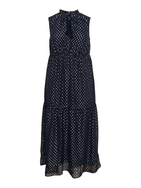 Vestido Largo Vero Moda Curve 10234157 VMIY SL MAXI DRESS-K CURVE