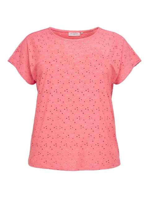 Camiseta Bordado Curvy Only Carmakoma 15227274 CARZABBY SS IN ONE TOP