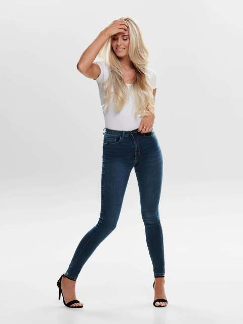 Jeans Skinny Mujer Only 15181725 ONLROYAL LIFE HW SKINNY BB BJ13964 NOOS