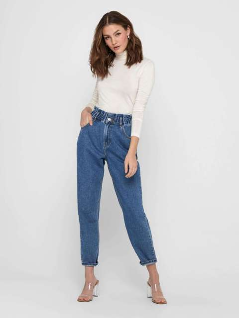 Jeans Baggy Mujer Only 15228234 ONLOVA LIFE HW CARROT AK DNM MAE784 NOOS