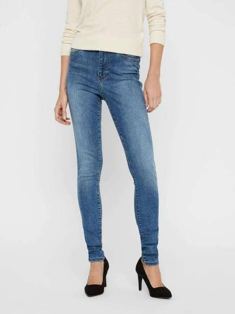 Jeans skinny Mujer Vero Moda 10193330 VMSOPHIA HW SKINNY JEANS LT BL NOOS