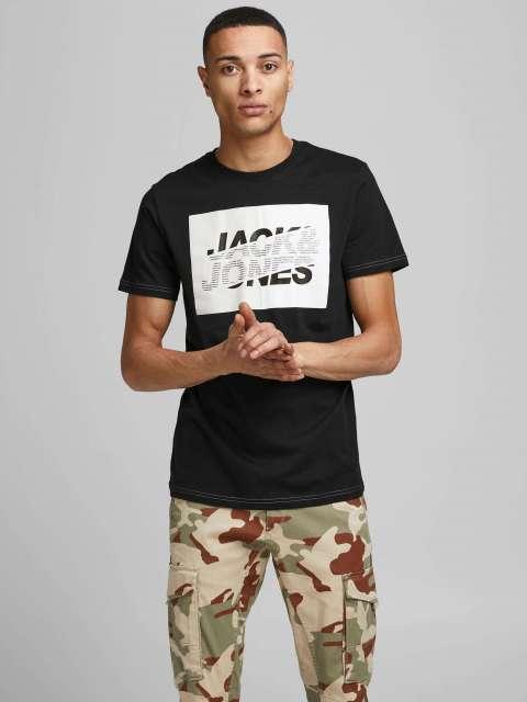 Camiseta Manga Corta Hombre Jack & Jones 12185076 JCONOVO TEE SS CREW NECK