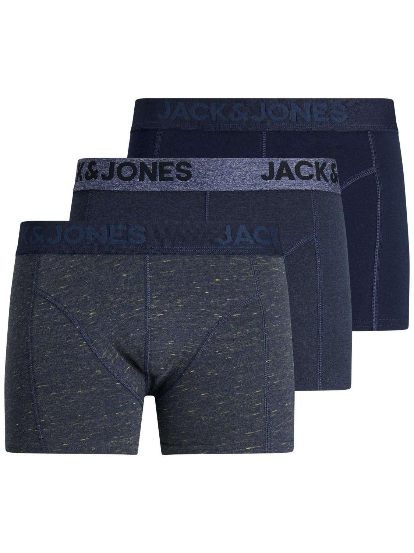 Pack Boxer Hombre Jack & Jones 12184161 JACJAMES TRUNKS 3 PACK NOOS