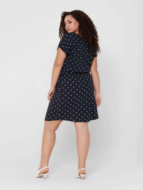 Vestido Algodón Curve Mujer 15200395 CARAPRIL SS KNEE DRESS STRIPE NOOS