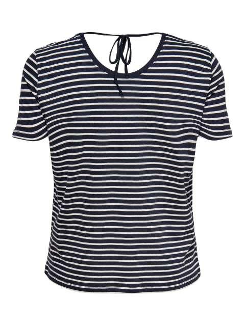 Camiseta Rayas Curve Mujer 15227185 CARAPRIL LIFE SS TEE