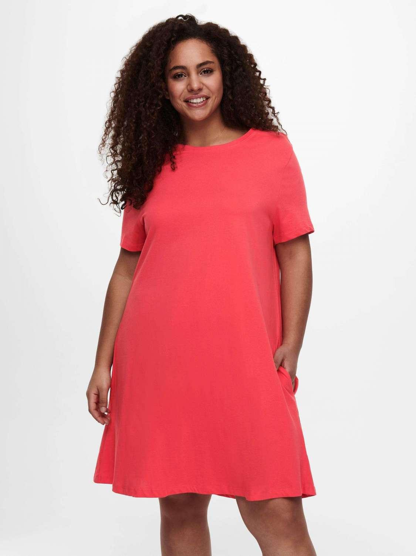 Vestido Algodón Curve Mujer 15227186 CARAPRIL LIFE SS POCKET DRESS