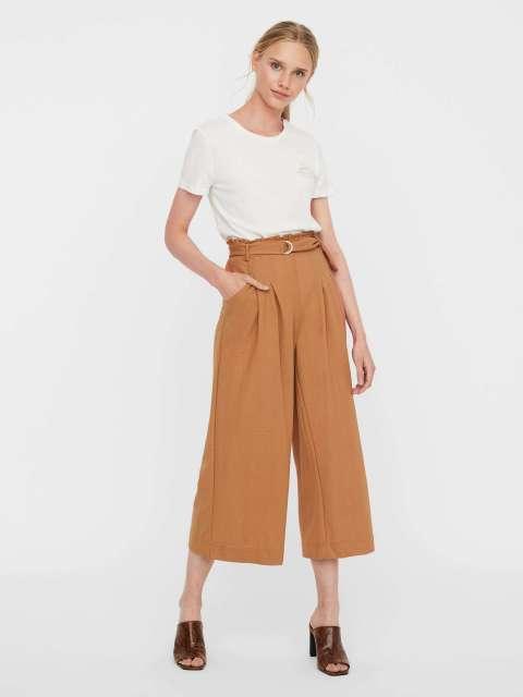 Pantalón Culotte Mujer Vero Moda 10247613 VMKAYLA HW CULOTTE PANTS JRS GA