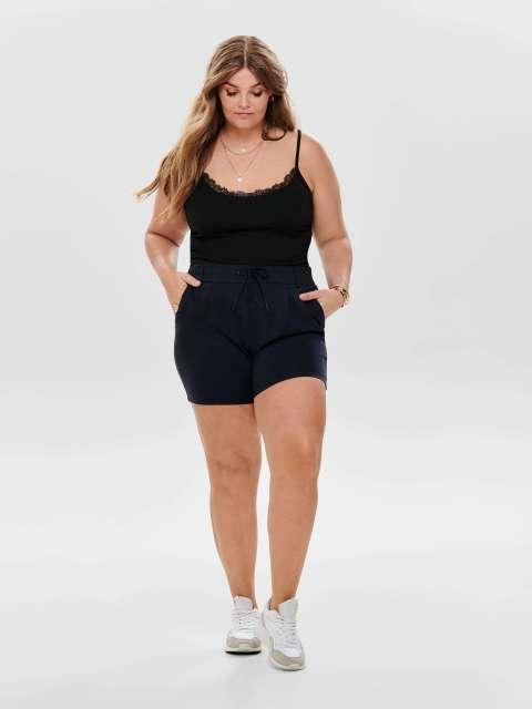 Short Punto Curve Mujer Only Carmakoma 15177161 CARGOLDTRASH LIFE EASY SHORTS