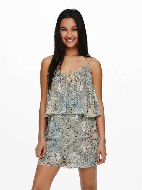 Mono Estampado Mujer Only 15230920 ONLALLY STRAP PLAYSUIT WVN