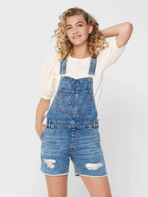 Peto Denim Mujer Only 15200825 ONLAYLA LIFE SL AUTHENTIC DNM PLAYSUIT