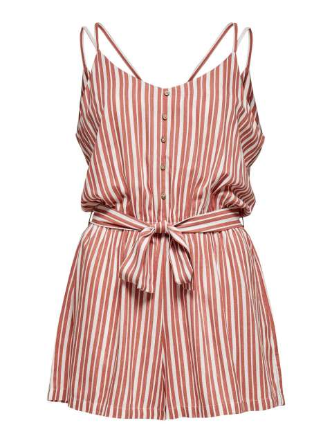 Mono Corto Rayas Mujer Only 15205063 ONLMINT S/L PLAYSUIT WVN