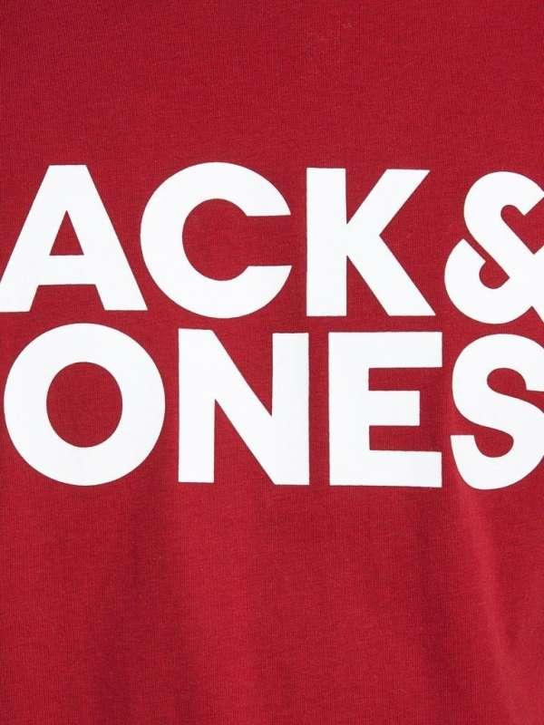 Camiseta Chico Jack & Jones 12151955 JJECORP LOGO TEE SS O-NECK NOOS