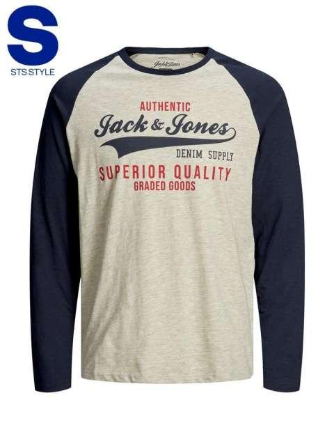 Camiseta chico Jack&Jones 12172365 JJERAGLAN LOGO TEE L/S NOOS