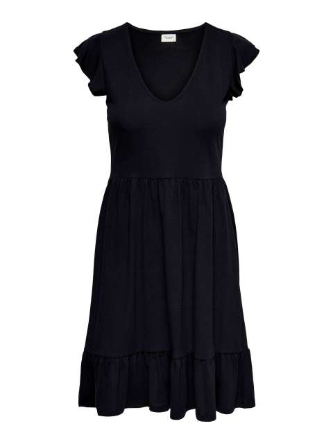 Vestido Volantes Mujer Jacqueline de Yong 15226146 JDYDITTE S/S V-NECK DRESS JRS