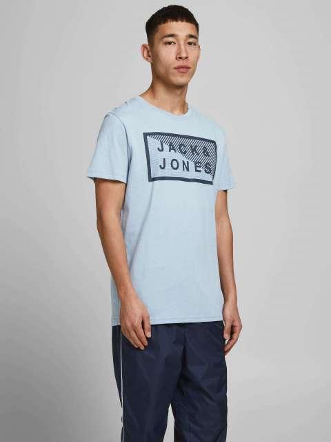 Camiseta texto hombre Jack & Jones  12185035 JCOSHAWN TEE SS CREW NECK NOOS