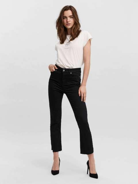Jeans kick flare mujer Vero Moda 10237568 VMSTELLA HR KICK FLARE JEANS BA 177